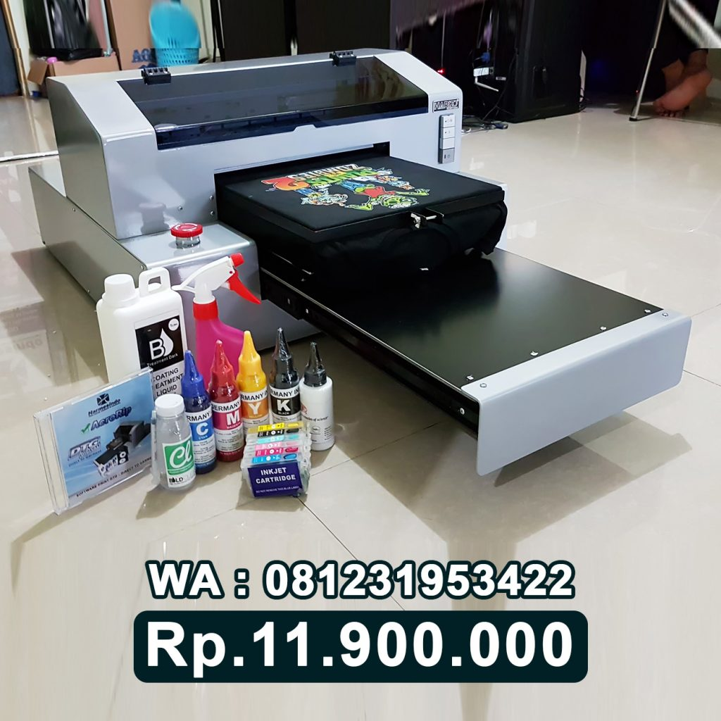 DISTRIBUTOR PRINTER DTG 1390 Mesin Sablon Kaos Digital Madura