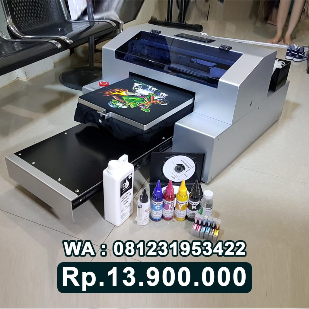 DISTRIBUTOR PRINTER DTG L1800 Mesin Sablon Kaos Digital Riau
