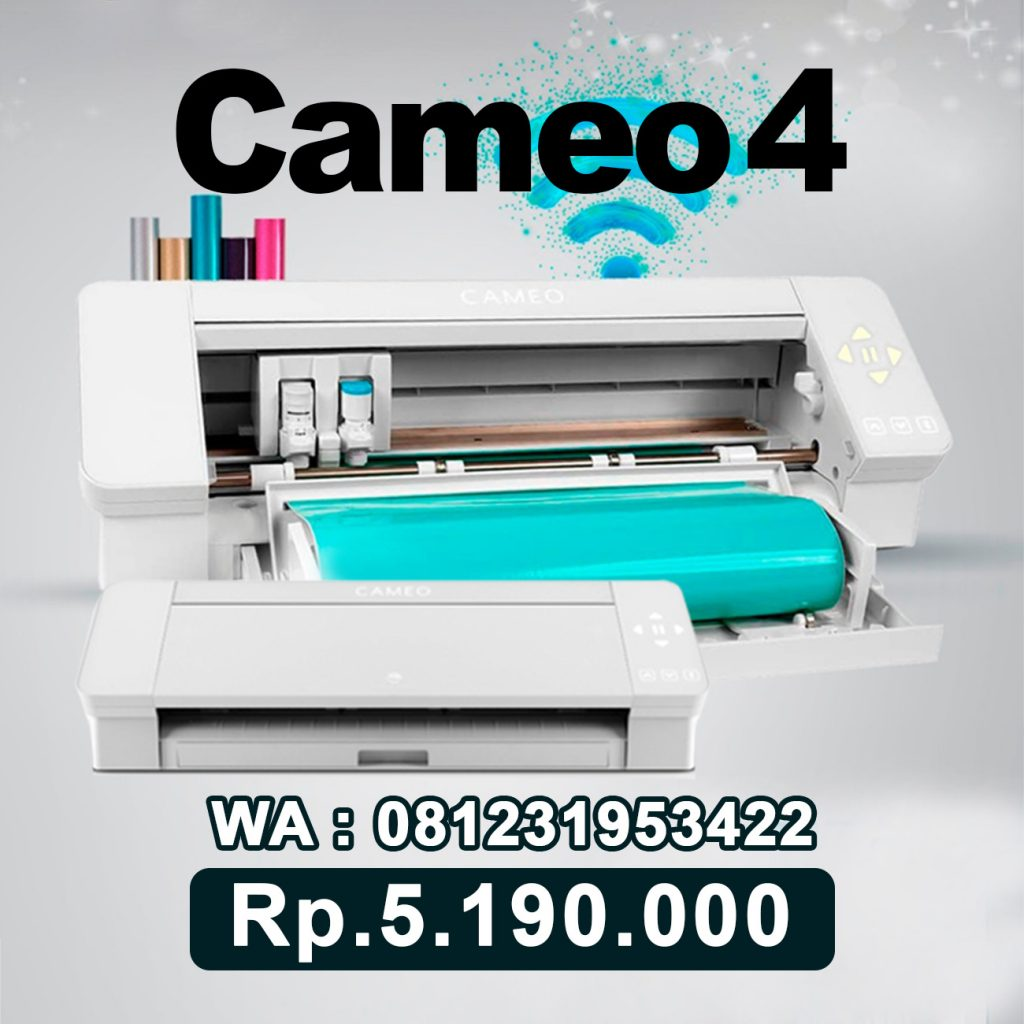 SUPPLIER MESIN CUTTING STICKER CAMEO 4 Sumatera Barat