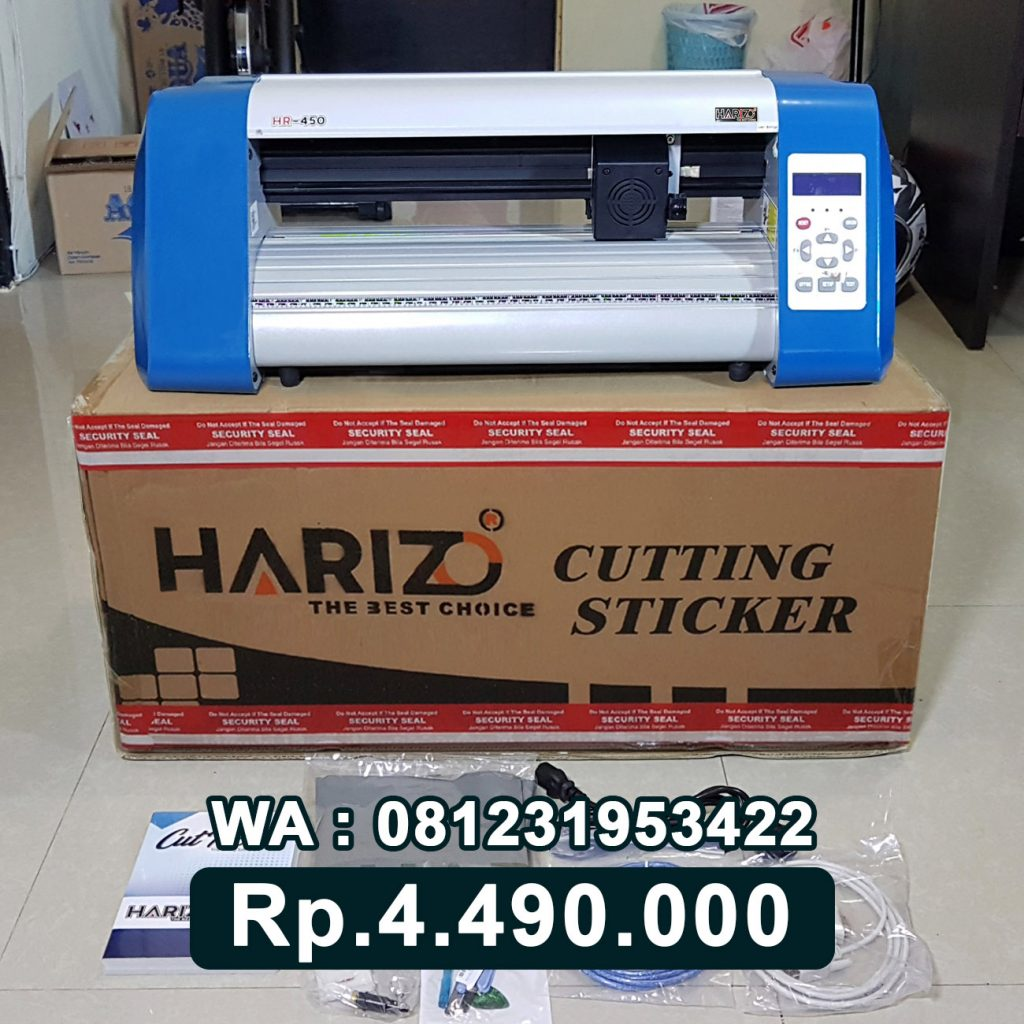 SUPPLIER MESIN CUTTING STICKER HARIZO 450 Bau-Bau