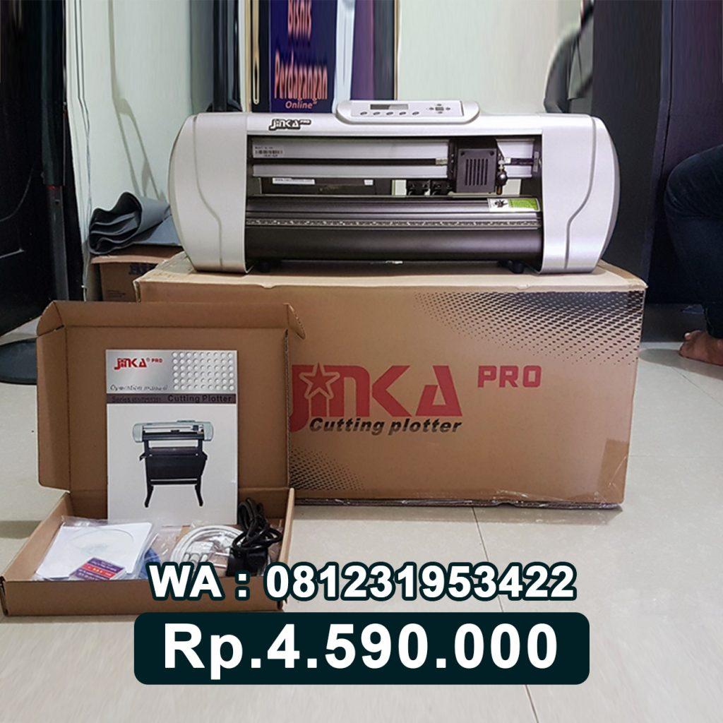 SUPPLIER MESIN CUTTING STICKER JINKA PRO 451 LED Kuningan