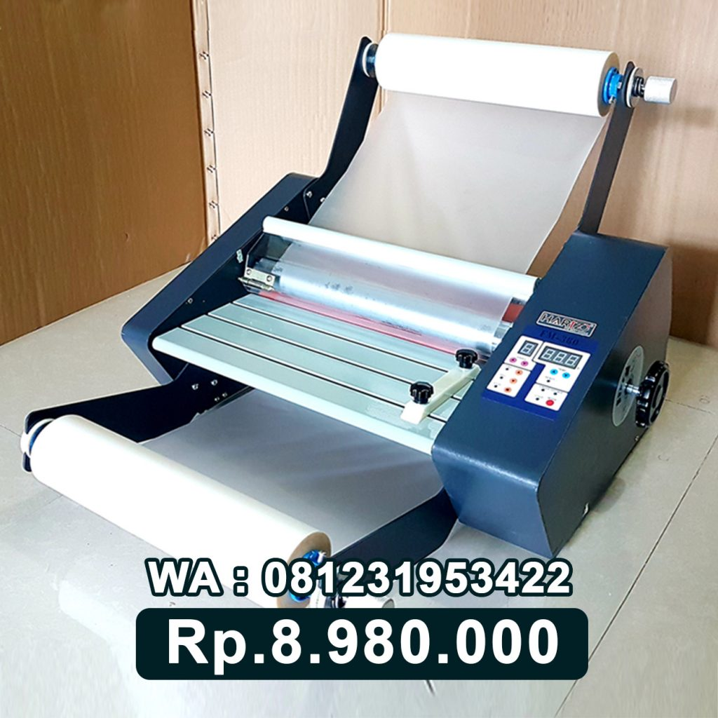 SUPPLIER MESIN LAMINATING ROLL FM 380 ALAT LAMINASI KERTAS Purwodadi