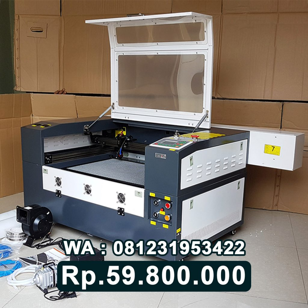 SUPPLIER MESIN LASER CUTTING AKRILIK 6090 ALAT GRAFIR ACRYLIC Tarakan