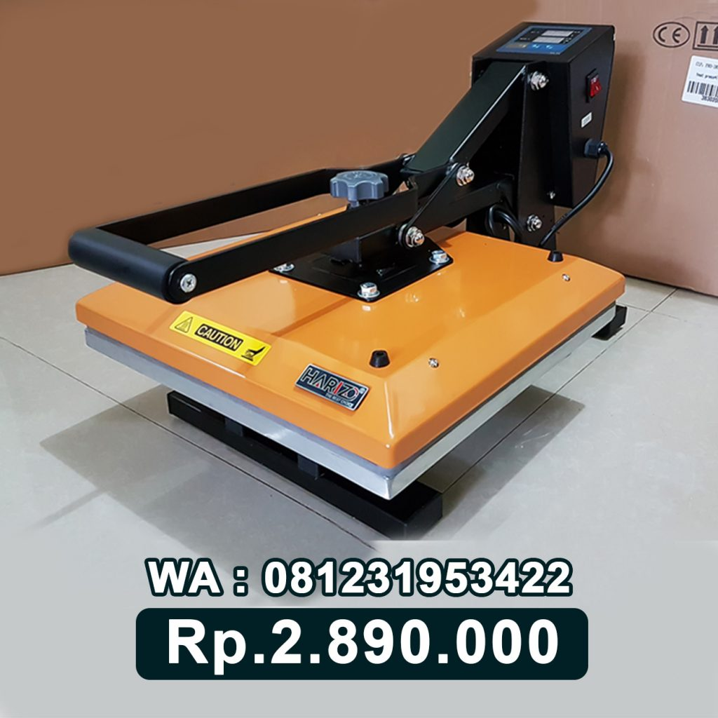 SUPPLIER MESIN PRESS KAOS DIGITAL 38x38 KUNING Tanjung Selor