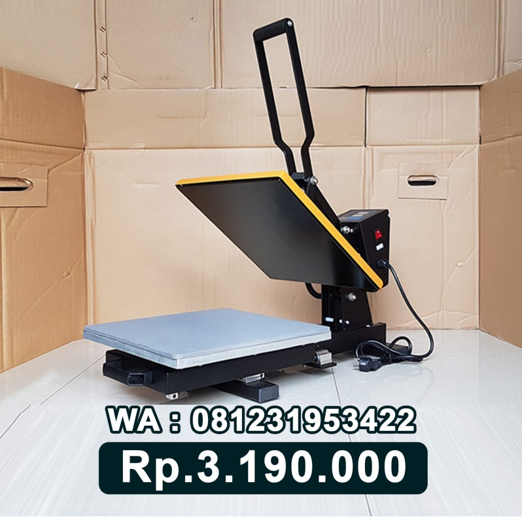 SUPPLIER MESIN PRESS KAOS DIGITAL 38x38 SLIDING Berau