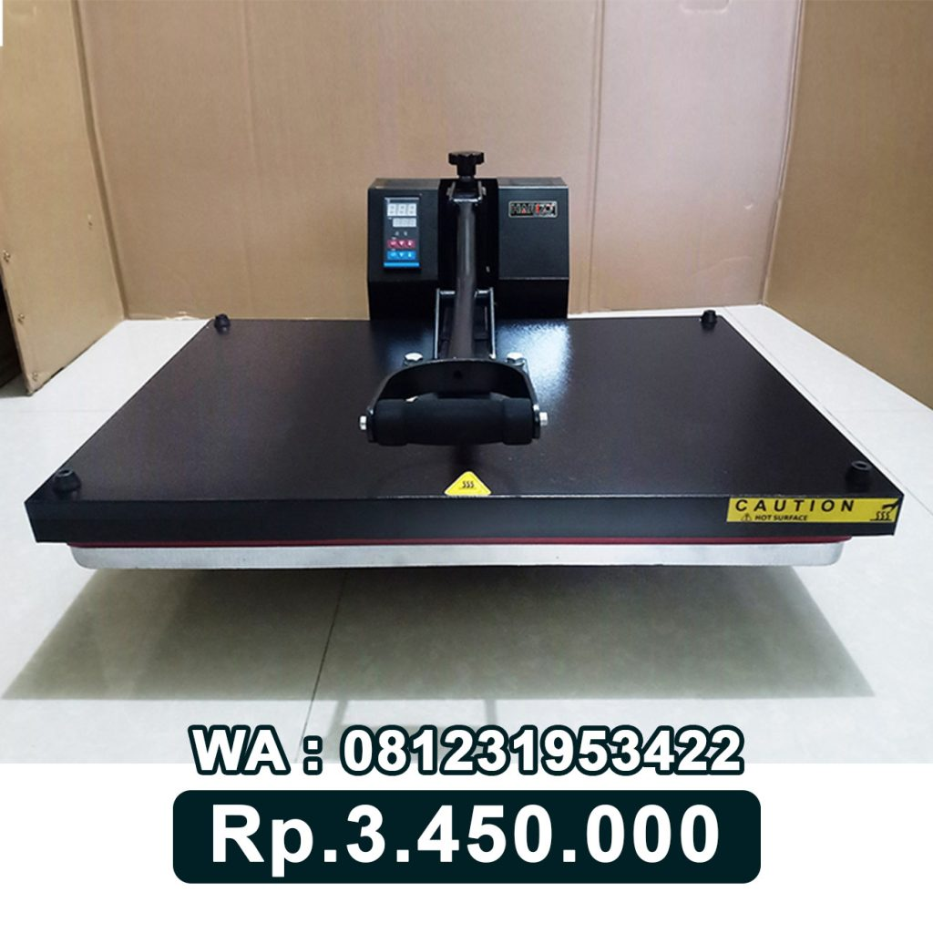 SUPPLIER MESIN PRESS KAOS DIGITAL 40x60 HITAM Tegal