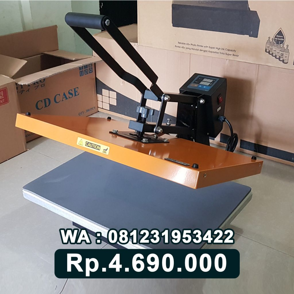 SUPPLIER MESIN PRESS KAOS DIGITAL 40x60 KUNING Tamiang Layang